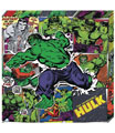 Image: Marvel Metallic Canvas Art: Hulk  - Cohen Hazan Group LLC