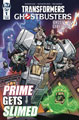 Image: Transformers Ghostbusters #1 (cover B - Roche) - IDW Publishing