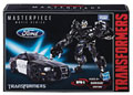 Image: Transformers Movie Masterpiece Barricade Action Figure Case  - Hasbro Toy Group