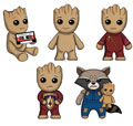 Image: Guardians of the Galaxy Vol. 2: Groot Plush Clips 24-Piece Blind Mystery Box Display  - Ucc Distributing
