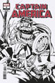 Image: Captain America #4 (variant Remastered B&W cover - Kirby)  [2018] - Marvel Comics