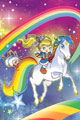 Image: Rainbow Brite #1 (incentive cover - Fleecs virgin) (10-copy)  [2018] - Dynamite