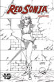Image: Red Sonja Vol. 05 #9 (incentive 1:30 cover - Linsner B&W)  [2019] - Dynamite