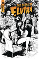 Image: Elvira: The Shape of Elvira #2 (incentive cover - Acosta B&W) (30-copy) - Dynamite