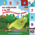 Image: Ghostbusters Board Book: 1 to 10 Slimers Loose Again  - Insight Kids