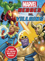 Image: Marvel Heroes vs. Villains Spiralbound  - Printers Row