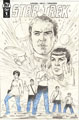 Image: Star Trek: Year Five #1 (incentive cover B - Hildebrandt Sketch) (25-copy) - IDW Publishing