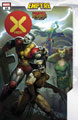Image: X-Men #10 (EMP) (variant Marvel Zombies cover - Brown) - Marvel Comics