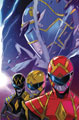 Image: Go Go Power Rangers #32 (cover A - Carlini Connecting) - Boom! Studios