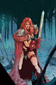 Image: Red Sonja #26 (incentive 1:15 cover - Peeples virgin) - Dynamite