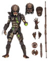 Image: Predator 2 Action Figure: Ultimate Battle Damaged City Hunter  (7-inch) - Neca