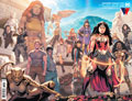 Image: Wonder Woman #770 (variant wraparound cover - Travis Moore) - DC Comics