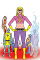 Image: It Girl & Atomics, Round Two: The World is Flat SC  - Image Comics