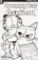 Image: Grumpy Cat / Garfield #2 (Ruiz b&w incentive cover - 02071) (30-copy)  [2017] - Dynamite
