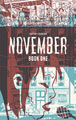 Image: November Vol. 01: The Girl on the Roof HC  - Image Comics
