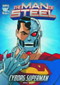Image: DC Super Heroes Man of Steel Young Readers: Cyborg Superman SC  - Capstone Press