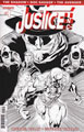 Image: Justice, Inc. #1 (variant incentive cover - Syaf B&W) (15-copy) - Dynamite