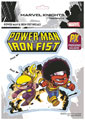 Image: Marvel Vinyl Decal: Iron Fist & Power Man by Young  - Elephant Gun, LLC