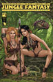 Image: Jungle Fantasy: Vixens #1 (variant cover - KS Costume Change C) - Boundless Comics