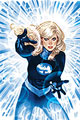 Image: Invisible Woman #1 (DFE signed - Adam Hughes [Gold]) - Dynamic Forces