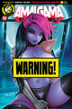 Image: Amalgama Space Zombie: Galaxy's Most Wanted #1 (cover D - Pekar risque) - Action Lab - Danger Zone