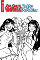 Image: Red Sonja and Vampirella Meet Betty and Veronica #12 (incentive 1:10 cover - Parent B&W) - Dynamite