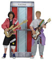 Image: Bill and Ted's Excellent Adventure Action Figure 2-Pack  (8-inch) - Neca