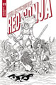 Image: Invincible Red Sonja #1 (incentive 1:15 cover - Conner line art) - Dynamite