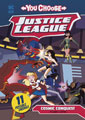 Image: Justice League You Choose: Cosmic Conquest SC  - Capstone Press