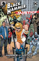 Image: Black Hammer / Justice League: Hammer of Justice #1 (cover C - Paquette) - Dark Horse Comics