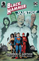 Image: Black Hammer / Justice League: Hammer of Justice #1 (cover D - Lemire) - Dark Horse Comics