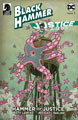 Image: Black Hammer / Justice League: Hammer of Justice #1 (cover E - Shimizu) - Dark Horse Comics