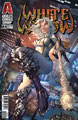 Image: White Widow #4 (cover B - Ehnot Gold Foil Logo) - Absolute Comics Group / Red Gi