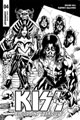 Image: Kiss: Blood and Stardust #4 (incentive cover - Buchemi B&W) (10-copy) - Dynamite