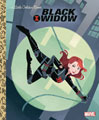 Image: Black Widow Little Golden Book  - Golden Books