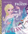 Image: I Am Elsa Little Golden Book  - Golden Books