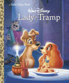 Image: Lady & the Tramp Little Golden Book  - Golden Books