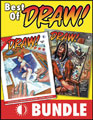 Image: Best of Draw Bundle SC  - Twomorrows Publishing