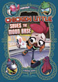 Image: Far Out Fables: Chicken Little Saves the Moon Base SC  - Stone Arch Books