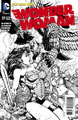 Image: Wonder Woman #37 (variant cover - Black & White) - DC Comics