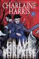 Image: Charlaine Harris' Grave Surprise Signed HC  - Dynamite
