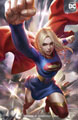Image: Supergirl #37 (variant card stock cover - Derrick Chew) - DC Comics