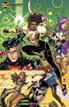 Image: Young Justice #11 (variant card stock cover - Nick Bradshaw) - DC Comics