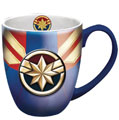 Image: Marvel Heroes Mug: Captain Marvel Logo  - Monogram Products