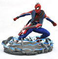 Image: Marvel Gallery PVC Statue: PS4 - Spider-Punk  - Diamond Select Toys LLC