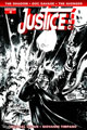 Image: Justice, Inc. #4 (variant incentive cover - Hardman B&W) (10-copy) - Dynamite