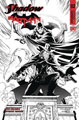 Image: Shadow / Batman #2 (cover J incentive - Daniel B&W) (50-copy)  [2017] - Dynamite
