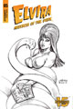 Image: Elvira: Mistress of the Dark #5 (incentive cover - Linsner B&W) (25-copy) - Dynamite