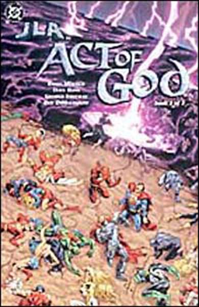 Image: JLA: Act of God #1 - DC Comics