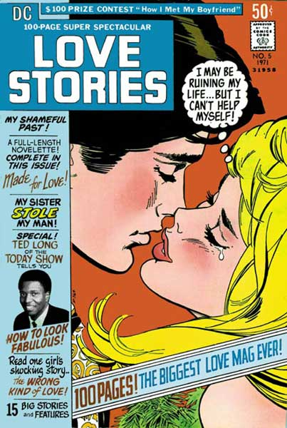 Image: DC 100-Page Super-Spectacular Replica Edition: Love Stories  - DC Comics